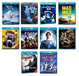 3D Blu Ray Pack 3