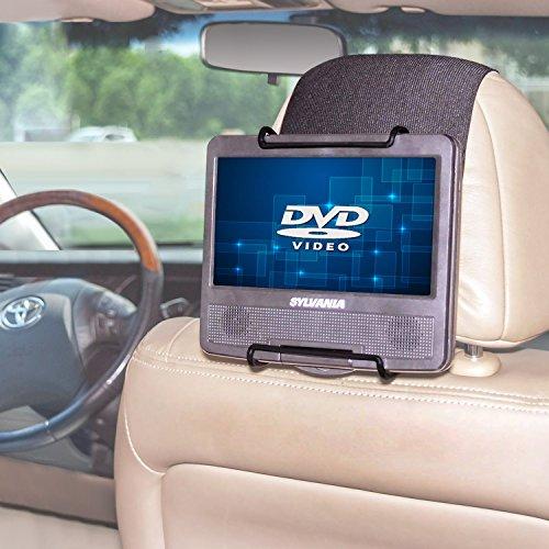 TFY Universal Auto Kopfstützenhalterung für 7 Zoll und 11 Zoll DVD-Player