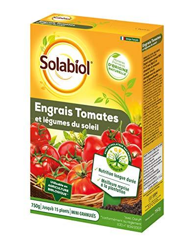 Solabiol SOTOMY750 - Concime per pomodori e Verdure, Utilizzabile in Agricoltura Biologica, 750 g