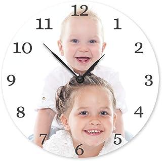YourSurprise Horloge personnalisée avec Photo - Personnalisez Cette Horloge Ronde avec Votre Photo préférée