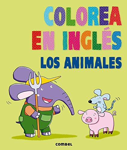 Colorea en inglés. Los animales