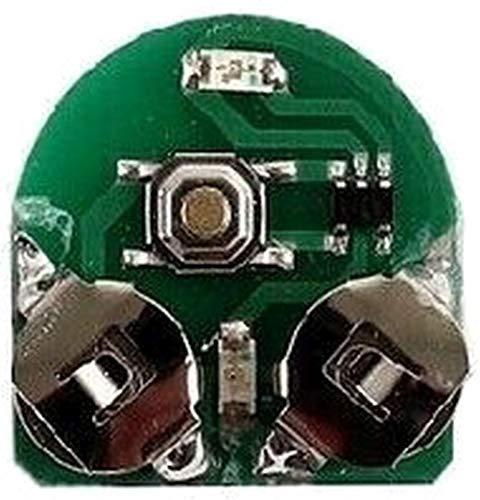 KED LED für Quicksafe - 1 STK - inkl. RennMaxe Band - Fahrradhelm Skaterhelm Kinder...