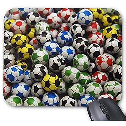 Mousepad Chocolade Voetballen Print Muis Mat