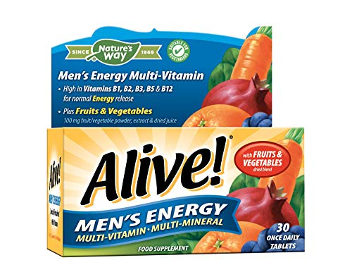 Alive! Men?s Energy Multi-Vitamin and Mineral 30 Tablets