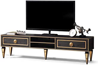 Avel Art Deco TV Unit - In Stock - No Assembly Needed