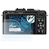 2x brotect protector de pantalla claro Panasonic Lumix dmc-gx80 lámina protectora
