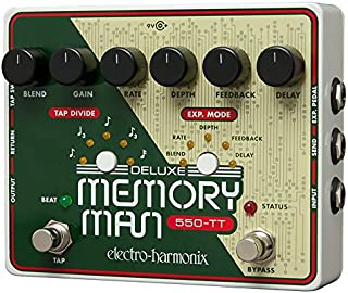 Electro-Harmonix Deluxe Memory Man with Tap Tempo 550mS Analog Delay