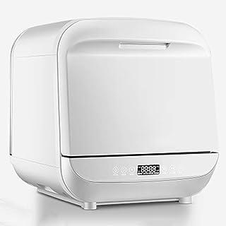 PIGE Mini Lavadora de vajilla doméstica de sobremesa automática para lavavajillas sin instalación Inteligente, Pantalla Digital LED, depósito de Agua extraíble