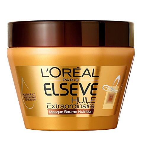 L'Oréal Paris Elsève Huile Extraordinaire Masque Baume Nutrition pour Cheveux Très Secs 300 ml