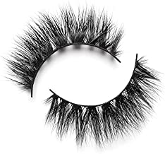 Lilly Lashes 3D Mink Mykonos | False Eyelashes | Dramatic Look and Feel | Reusable | Non-Magnetic | 100% Handmade & Cruelty-Free