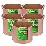 VIVOSUN 5 Fabric Pots