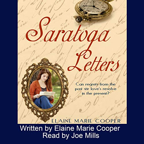 Saratoga Letters audiobook cover art