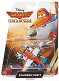 Pontoon Dusty ~3' Die-cast Vehicle: Disney Planes - Fire & Rescue Series by Disney