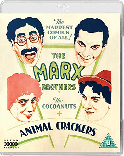 The Cocoanuts + Animal Crackers [Blu-ray]