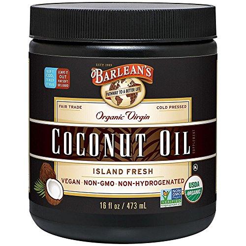 Barlean#039s Organic Virgin Coconut Oil 16Ounce Jar