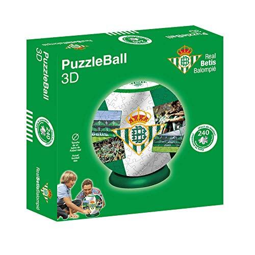 Kappa National Soccer Club Puzzleball Real Betis (Tamaño Balón) 8,4 (63706), Multicolor, Ninguna (1)