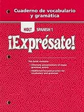 holt spanish 1 expresate workbook online