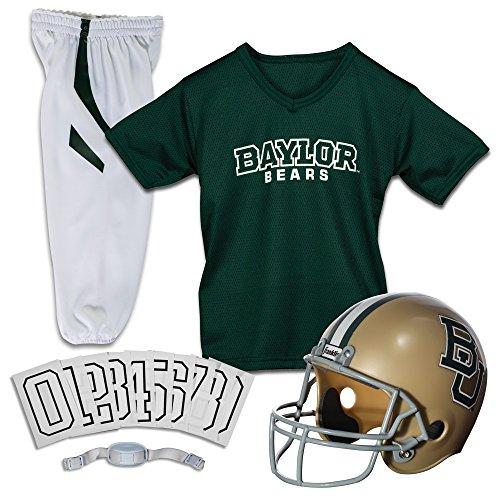 Franklin Sports NCAA Baylor Bears Youth Deluxe Team Uniform Set, Multi, Medium
