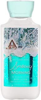 snowy morning bath and body works lotion