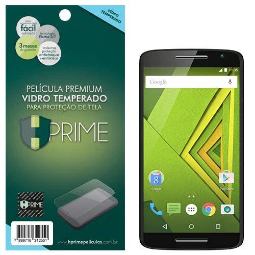 Pelicula de Vidro temperado 9h HPrime para Motorola Moto X Play, Hprime, Película Protetora de Tela para Celular, Transparente