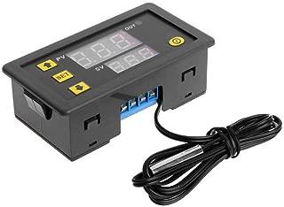 Gankmachine W3230 LED Digital Temperature Controller -55 to 120 Degree Temperature Measurement Data Save Thermostat Regulator DC12V,black,79 * 43 26mm
