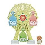 Calico Critters Baby Ferris Wheel, Dollhouse Playset with Toy Poodle Figure Included from Calico Critters