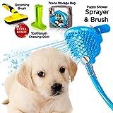 PELEPET 4 in 1 Pet Bath Hose Shower Sprayer for...