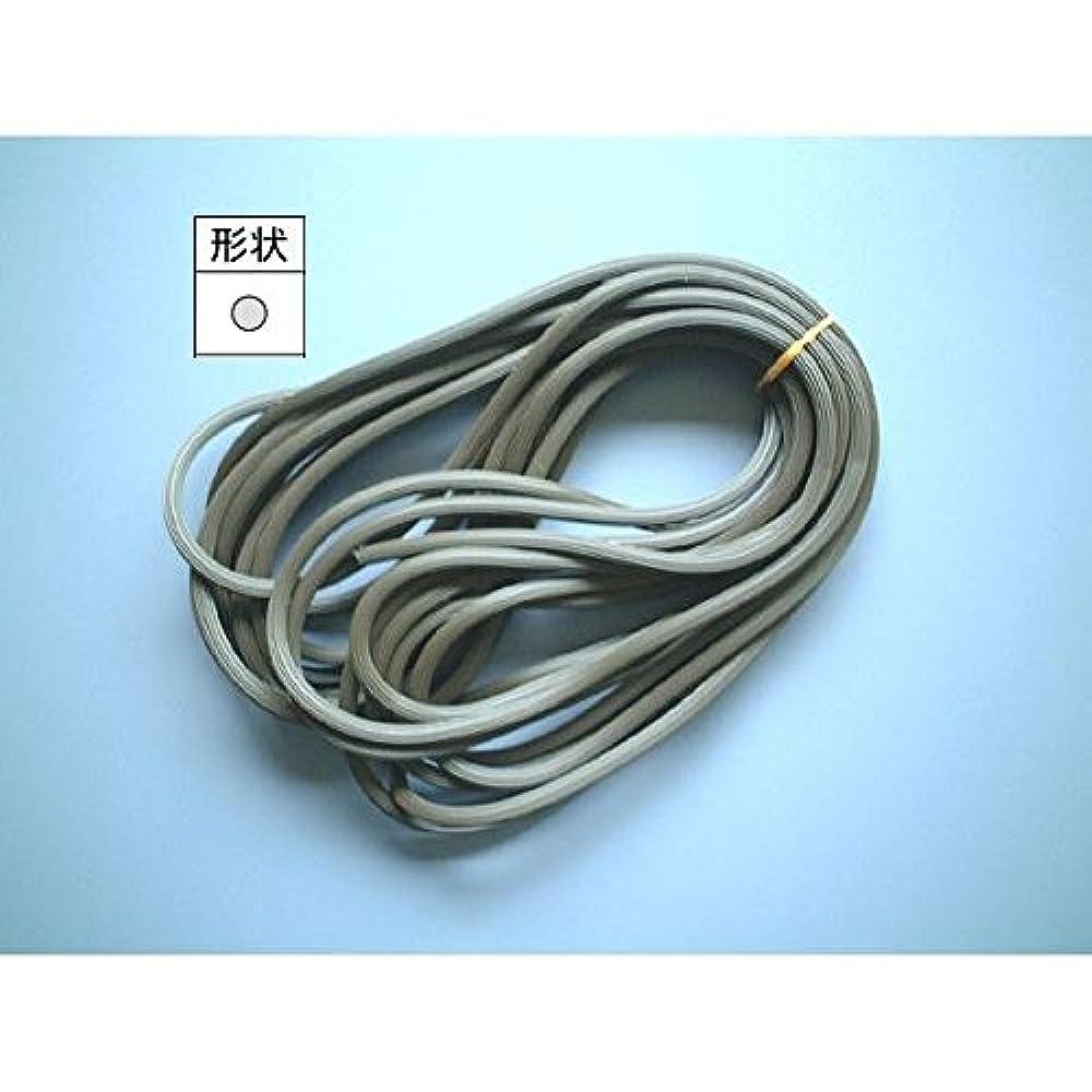 廃止無意識系譜YKKAP網戸ロープ長さ250m:径2.9mm ライトグレイ