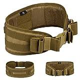 Selighting Cinturón de Utilidad Molle Táctica Militar de Nylón Cintura de Protección para Caza,...