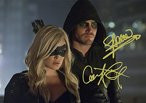 Arrow TV Series Print - Stephen Amell Caity Lotz Black Canary (11.7' X 8.3')