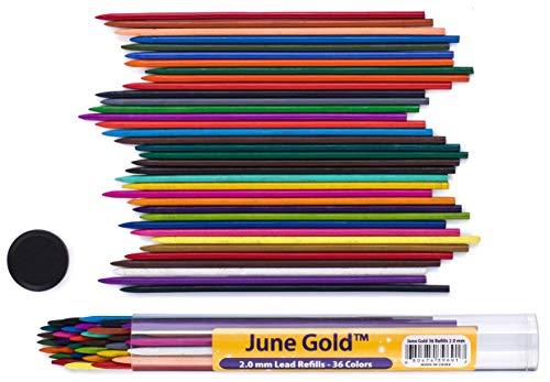 Minas de Colores 2Mm Marca June Gold