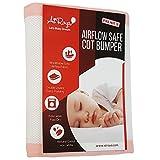 AIROYA Tour de lit bebe 2 faces protège-lit de protection pour lit de, conformité de sécurité BS1877
