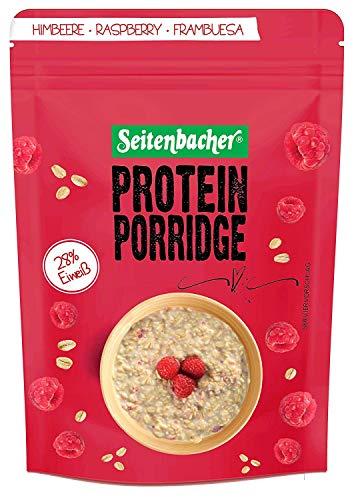 Seitenbacher Protein Porridge Himbeere - Dein warmes Frühstück mit 28% Protein , 500 g