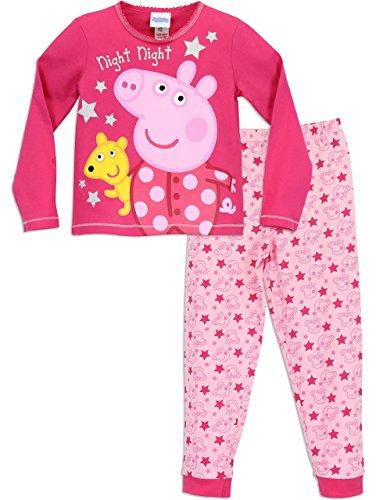 Peppa Wutz Mädchen Peppa Pig Schlafanzug 104