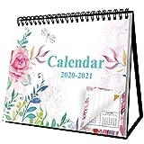 Small Flip Standing Desk Calendar 2020-2021 8' x 6'