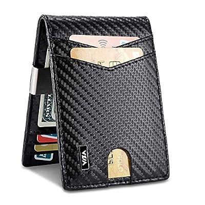 WXM Money Clip Wallet- Mens Wallets slim Front ...