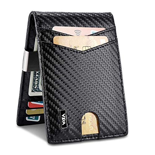 (40% OFF) Slim Money Clip Wallet $15.59 – Coupon Code