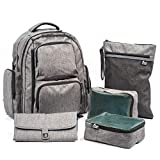 Large Capacity Diaper Bag Backpack- with YKK Zippers, Two Packing...