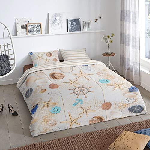 Good Morning! Bettwäsche Hind Multi 1 Bettbezug 155 x 220 cm + 1 Kissenbezug 80 x 80 cm