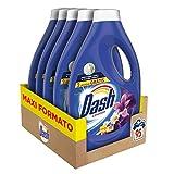 Dash - Detergente líquido de lavanda, indispensable contra las manchas, lavado tras lavado, 1100 g