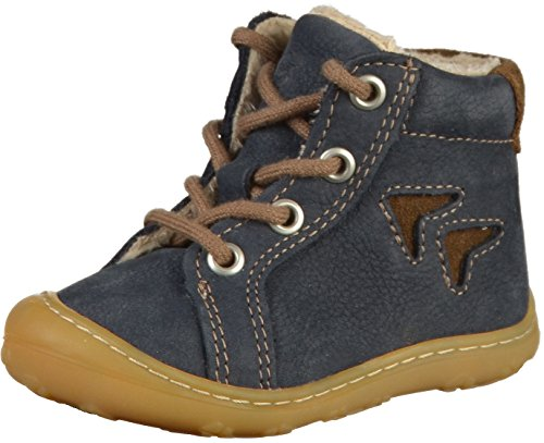 RICOSTA Baby Jungen Georgie Sneaker, Blau (See 187), 22 EU