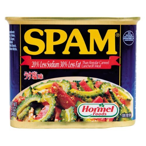 うす塩スパム(SPAM)・ポークランチョンミート 12缶セット