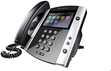 $189 » Polycom VVX601 Gigabit IP Phone - VVX 601 2200-48600-025 New (Power Supply not Included) with 1 Year Warranty
