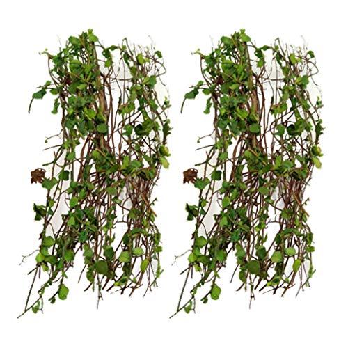 Harilla Planta de Vid en Miniatura de 2 Piezas para Diorama de Paisaje Ferroviario de de Arena 1:35 1:28