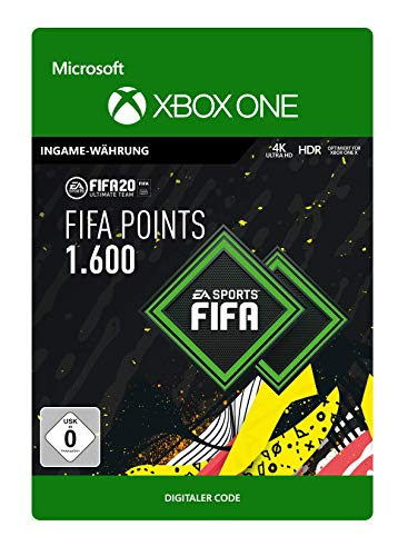 FIFA 20 Ultimate Team - 1600 FIFA Points - Xbox One - Download Code