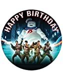 7.5 Inch Edible Cake Toppers Cures Ghostbusters Themed Birthday Party Collection of Edible Cake Decorations