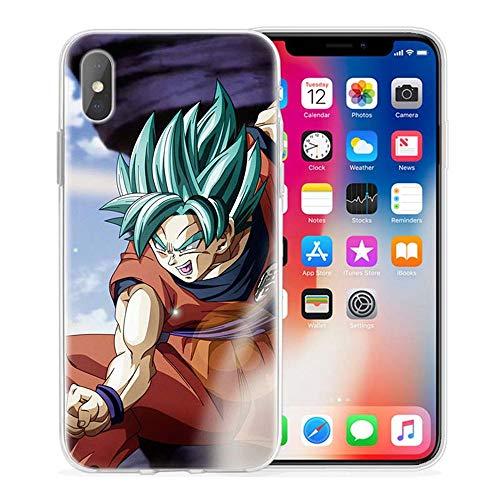 Giorno Dragon Ball Goku Z Cases for Cover iPhone Silicone Case Anime Phone Cover 10 for Cover iPhone 5 5S SE