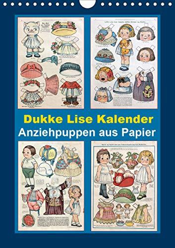 Dukke Lise Kalender - Anziehpuppen aus Papier (Wandkalender 2021 DIN A4 hoch)