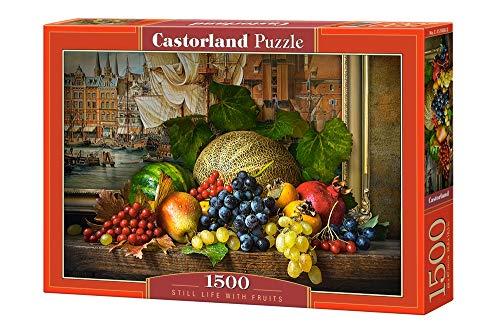 Castorland Still life with Fruits, Puzzle, 1500 Pezzi, Multicolore, 151868