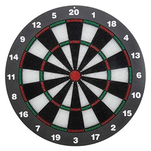 MKXULO Dartscheibe 42 cm, Softdart Safety Darts, 6 Pfeile, kindgerecht,Standfuß Sicherheits-Dartboard